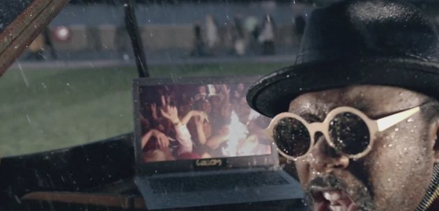 "will.i.am called for rain and the Ultrabook delivered for the London-set music video of ""This is Love."""