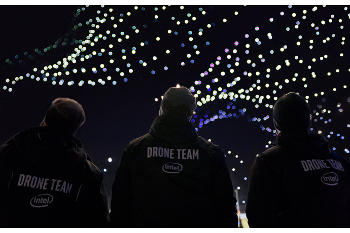 intel Drone Light Show