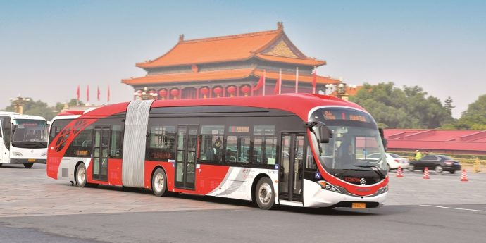 Mobileye China BPTC Bus 2x1