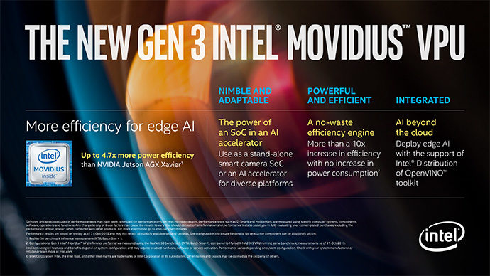 gen 3 intel movidius gpu