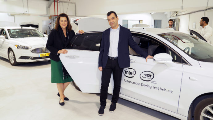 intel mobileye michigan