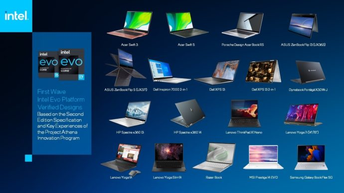 Intel Evo Designs 11 20